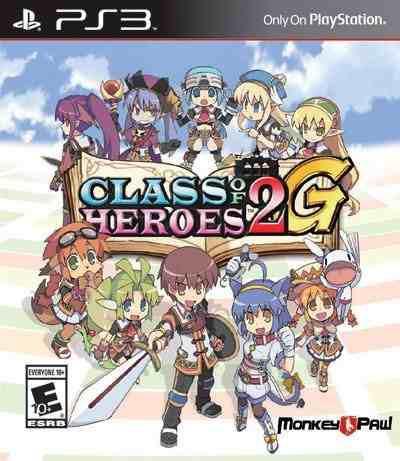 Juegos,clase de heroes 2g - ps3..