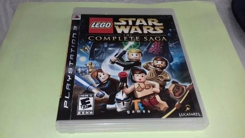 Lego star wars the complete saga buen juego de play 3