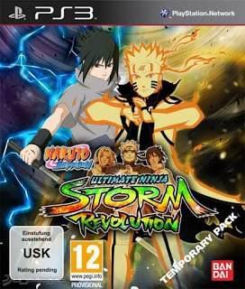 Naruto shippuden: ultimate ninja storm juego digital ps3