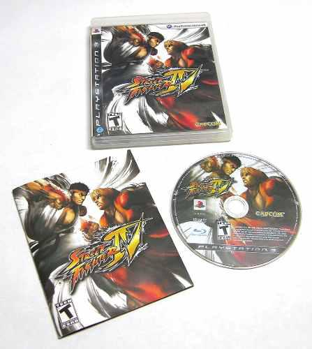 Ps3 street fighter iv play 3 juego combate move seminuevo