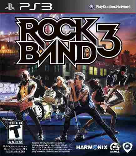 Roca banda 3 - playstation 3 (juego)