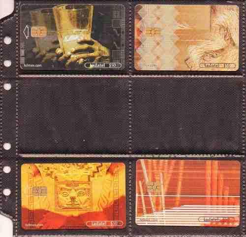 Tarjetas telefonicas serie postales digitales