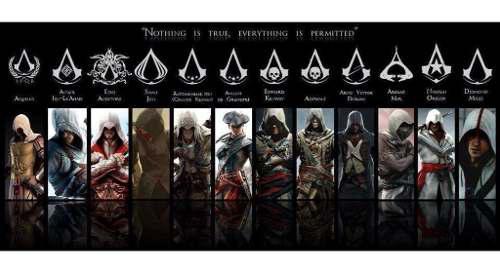 Toda la saga assassins creed ps3 9 juegos completos