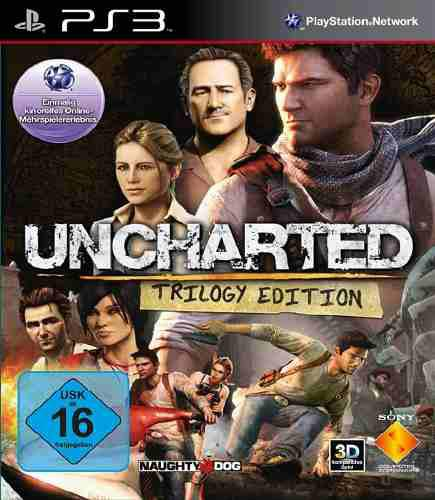 Uncharted trilogy juego digital ps3