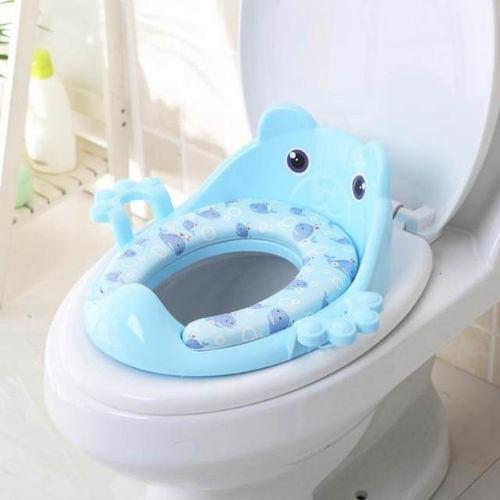 Asiento entrenador baño bebé ajustable bañito