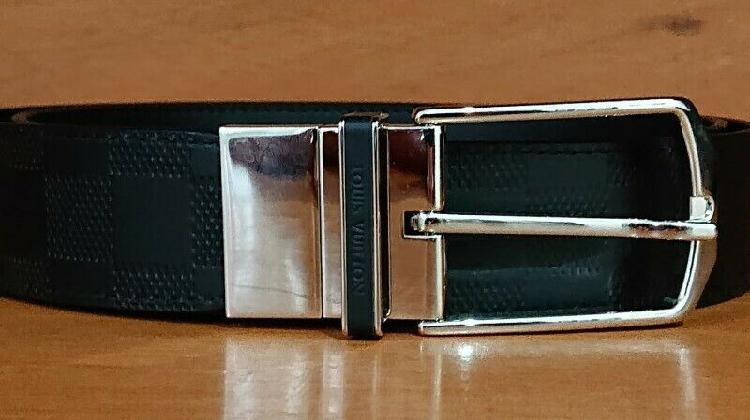 Cinturon louis vuittton reversible original factura original