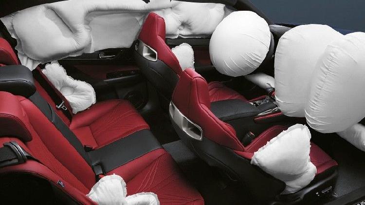 Reparación de bolsas de aire y cinturones de seguridad