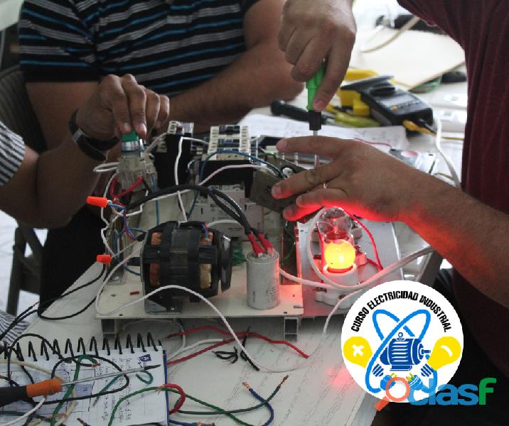 Curso de electricidad industrial en villahermosa