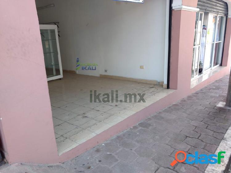 Renta local comercial 21 m² col. zapote gordo tuxpan veracruz, zapote gordo
