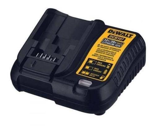 Cargador baterias 12v 20v 1.25 amp/h li-ion accesorio dewalt