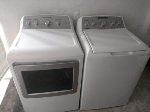 Combo lavadora y secadora 22 kg mabe kit lavanderia gratis