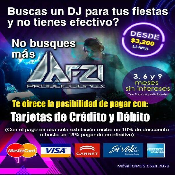 DJ y Equipo de Audio Profesional pata todo tipo de eventos