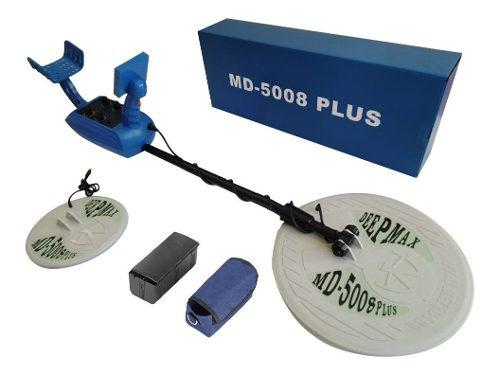 Detector de metales/tesoros md5008 plus 3.5 mts + péndulo