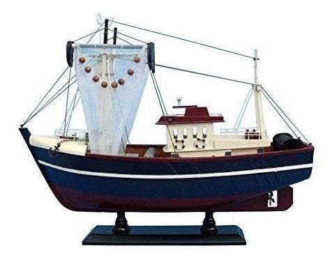 Fishin magician 18 - barco de pesca modelo de madera - barco