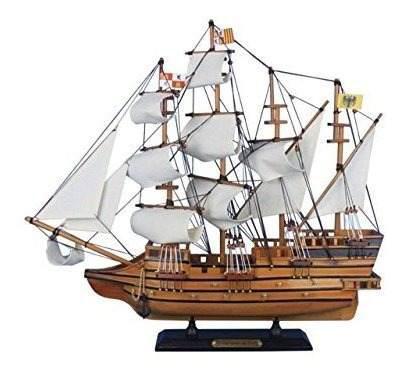 Hampton nautical wooden mel fishers modelo atocha ship 20