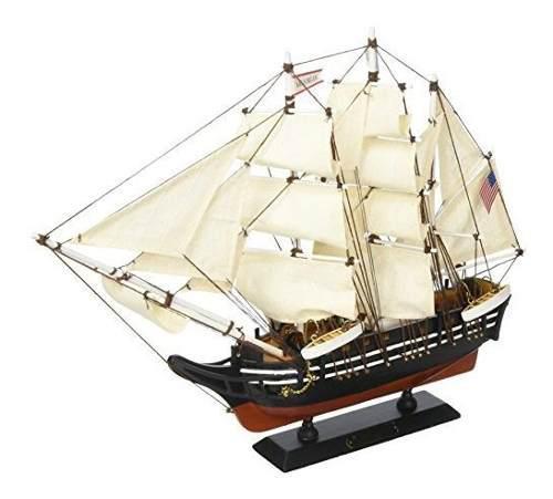 Hampton nã¡utico de madera charles w morgan modelo de barc