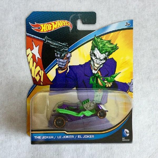 Hot wheels dc comics the joker