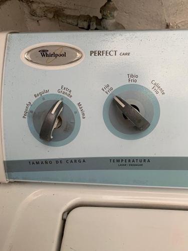 Lavadora y secadora 15 kg whirlpool