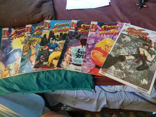 Lote comics manga street fighter 2