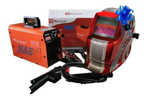 Soldadora inversor portatil 200 amp 110/220v + regalo
