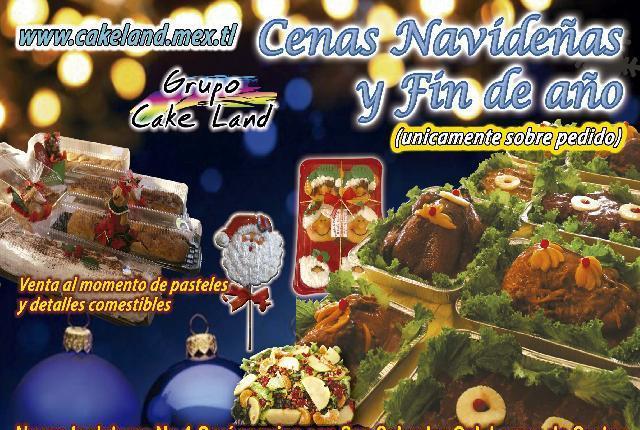 cena para navidad y para fin de año