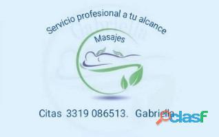 Solo para caballeros exigentes de servicio profesional en terapias alternativas