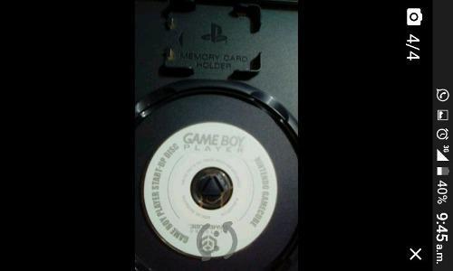 Game boy player para g c + juego de gba original