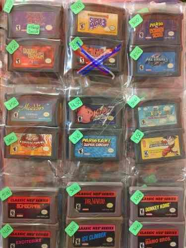 Juegos gameboy x separado