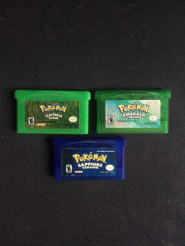 Juegos pokémon gameboy advance originales