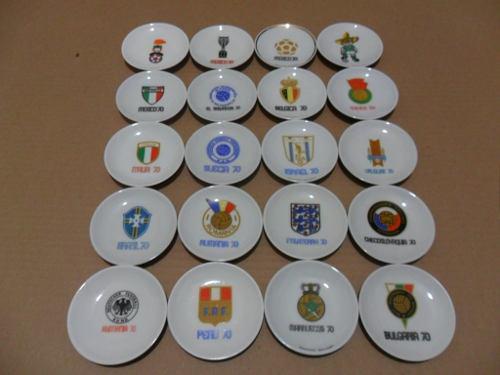 M e x i c o 70 coleccion completa original platos porcelana