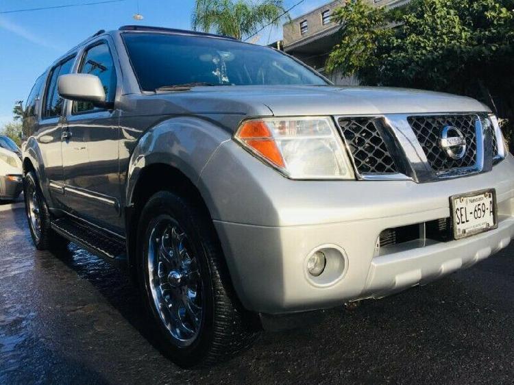Nissan pathfinder equipada a/c rines electrica automatica