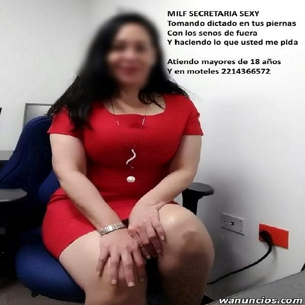 SOY UNA SEXY SECRETARIA MADURITA DISPUESTA ACOMPLACER TUS