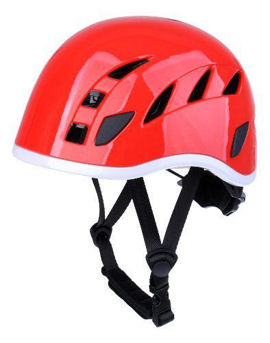 Seguridad al aire libre roca de escalada casco rappel ventil