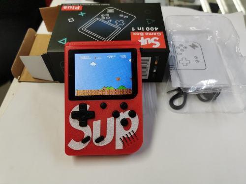Sup video juego game boy 400 video juegos, rojo buen precio