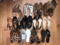 Fetichista compra calzado de mujeres bonitas