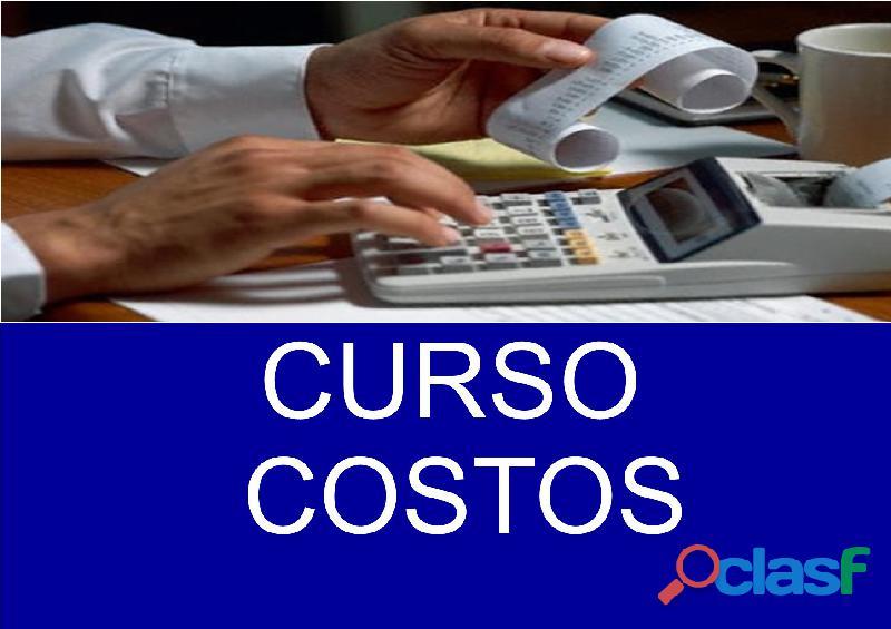 Curso de costos en monterrey