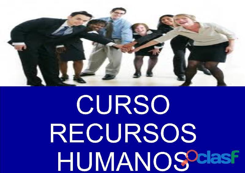 Curso recursos humanos en monterrey