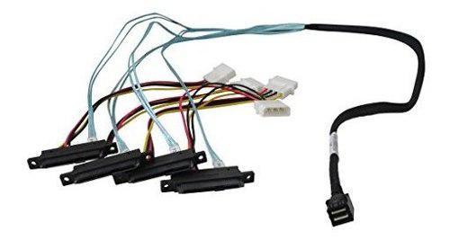 Highpoint internal minisas hd a 4x sas cable 1meter 86434sas
