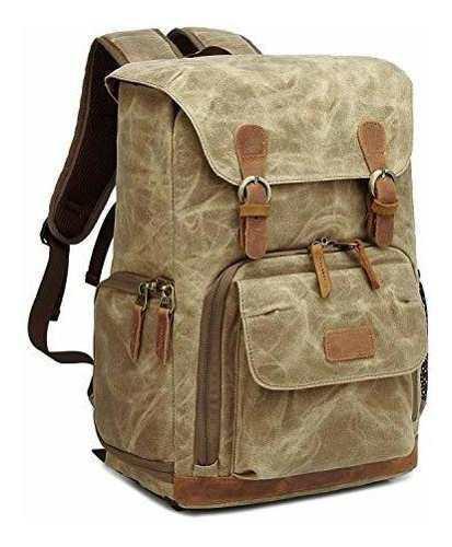 Camera Backpack Waterproof Vintage By G-raphy For Dslr Slr C