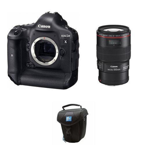 Canon Eos-1d X 18.1mp Slr Con Lente Canon Ef 100mm F/2.8l