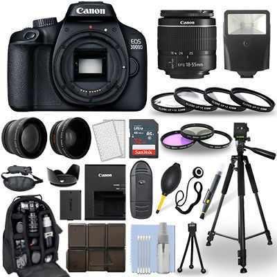 Canon eos 3000d / rebelde t100 cámara slr + 18-55mm lente +