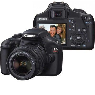 Canon eos rebel t3 slr 12.2mp con lente 18-55mm