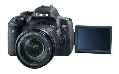 Canon Eos Rebel T6i - Lente Digital Slr Con Ef-s, 18 55 Mm