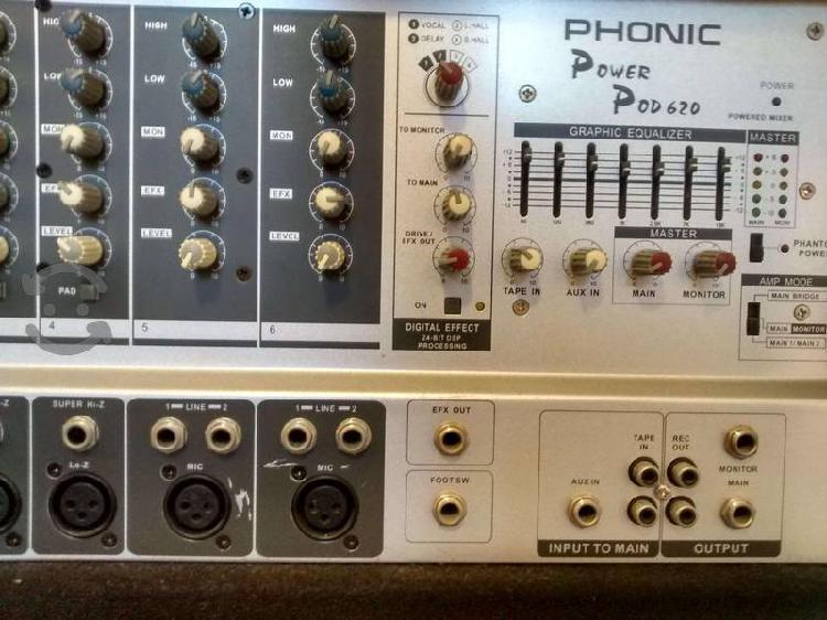 Consola amplificada phonic