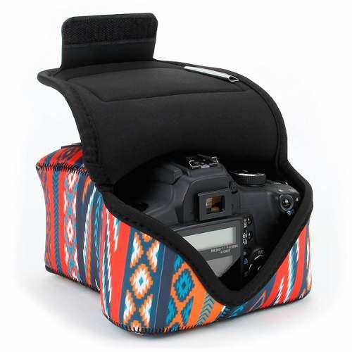 Dslr Camera Case/slr Camera Sleeve (southwest) With Neoprene