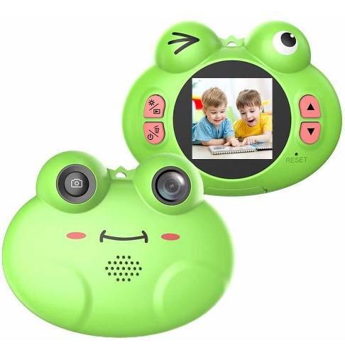 Mini cámara digital linda rana camara niños bebés regalo