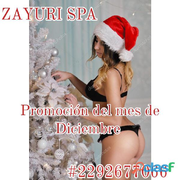 En Zayuri Spa vivirás una experiencia única, llena de placer...