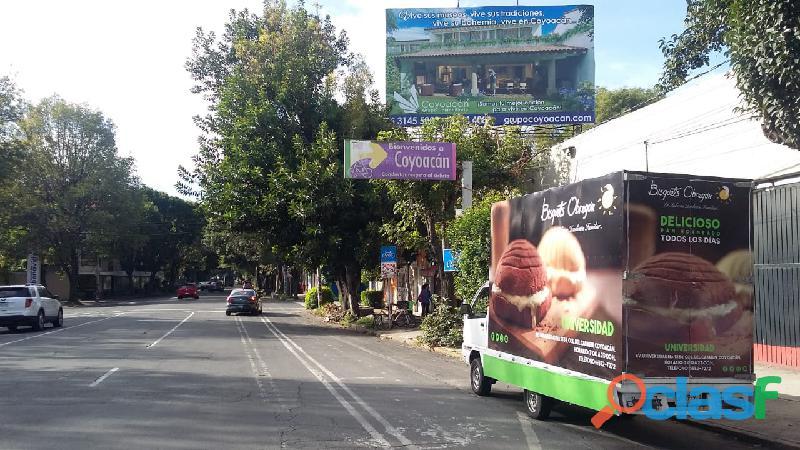 Vallas Móviles en Zapopan, Jalisco 2
