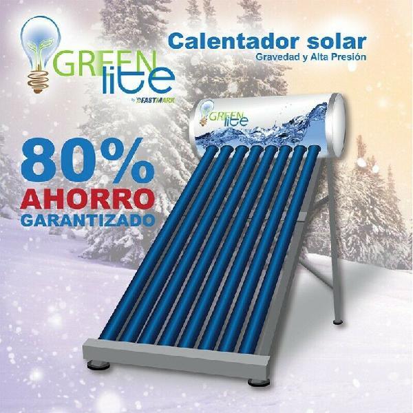 Calentador solar 30 tubos acuasunny baja presion