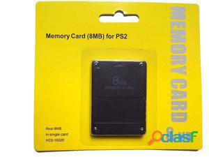 Memoria Memory Card Ps2 8mb Para Play Station 2